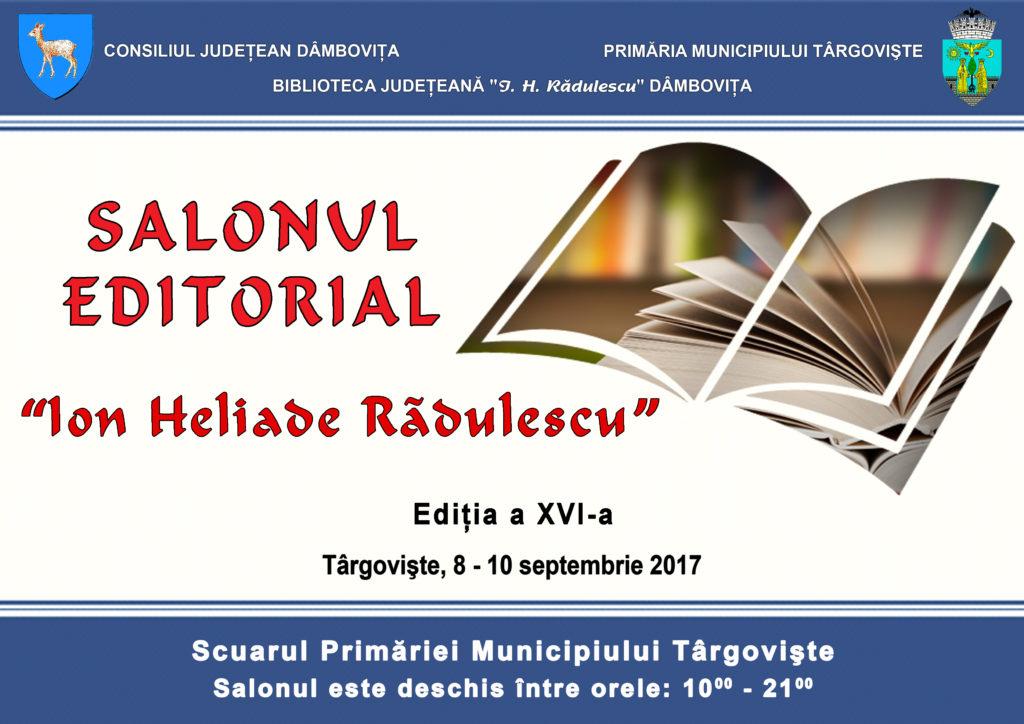 """Salonul Editorial """"Ion Heliade Rădulescu"""""""