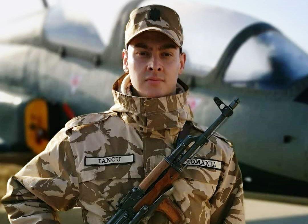 Iancu Laurenţiu - Batalionul 1 Rachete Sol-Aer Boteni. FOTO: MApN Facebook